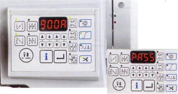 bảng điều khiển máy 1 kim