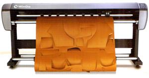Máy vẽ cắt rập in phun mực kiểu đứng WD-SPC165
