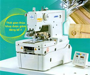Máy thùa khuy đầu tròn MEB-3810 điều khiển bằng vi tính